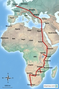 stepmap-karte-london-to-cape-town-1309347